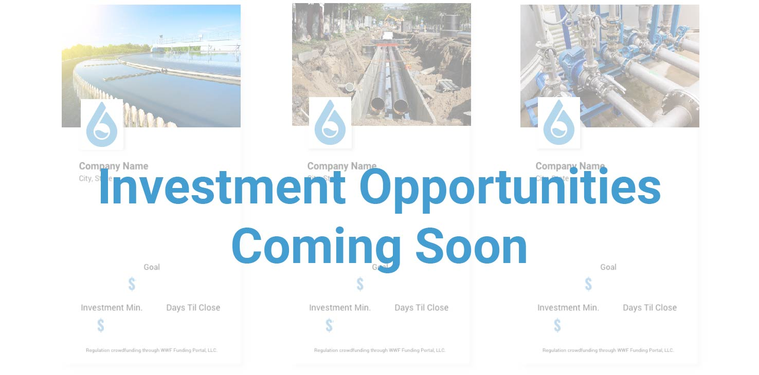 Investment Opportunities Coming Soon